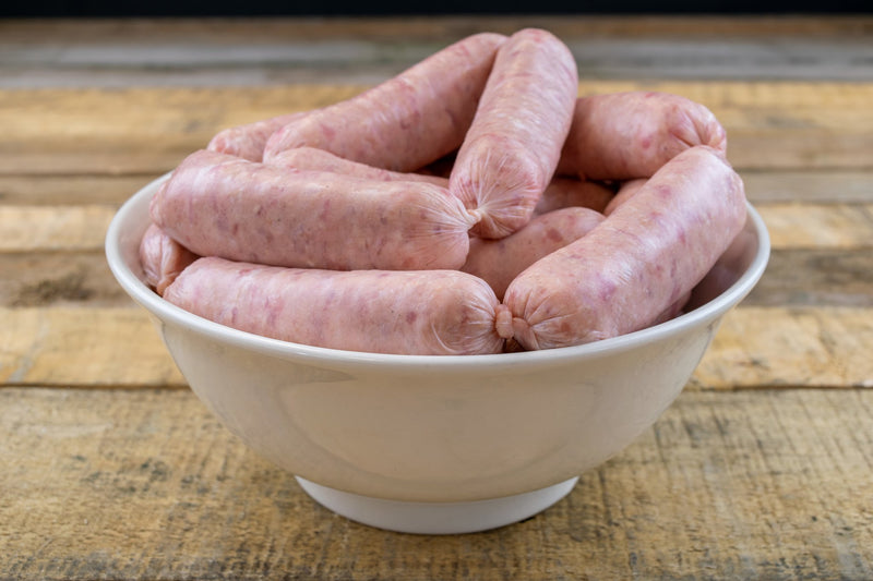 Pork Sausages (1kg pack) - Birtwistles Catering Butchers