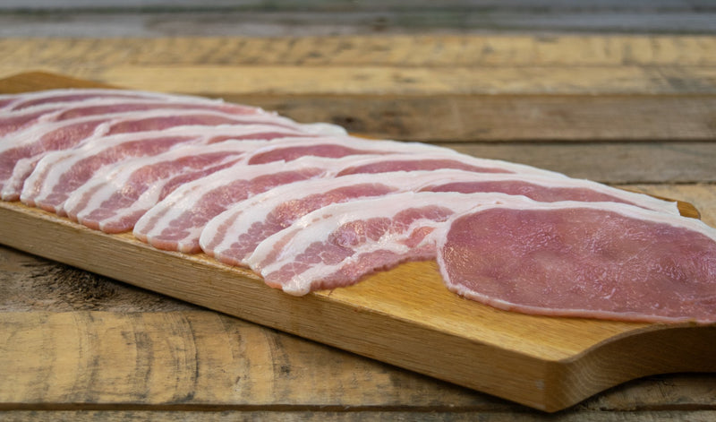 Back Bacon Unsmoked Sliced (500g) - Birtwistles Catering Butchers