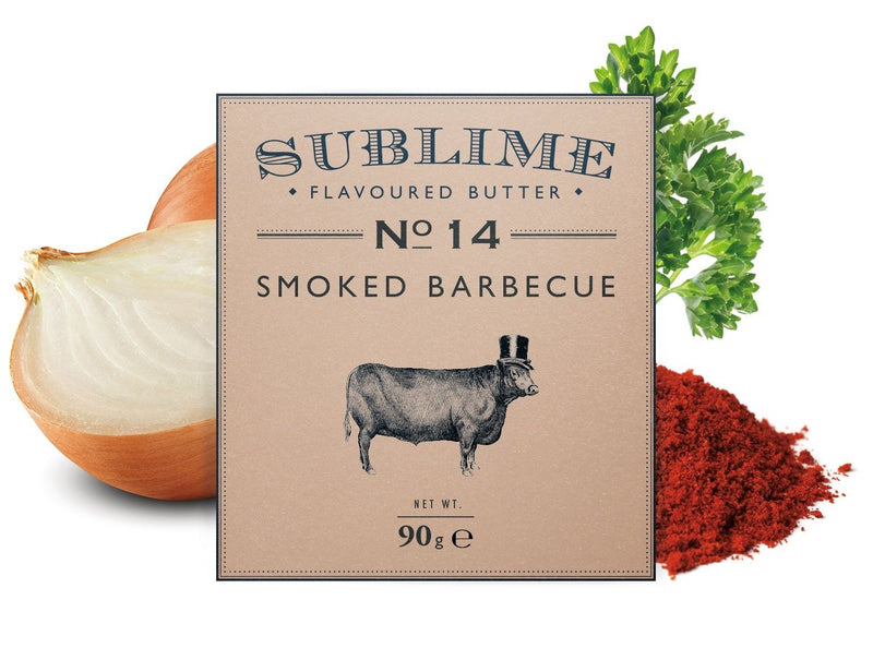 Sublime No.14 Smoked Barbeque Butter (90g) - Birtwistles Catering Butchers Online