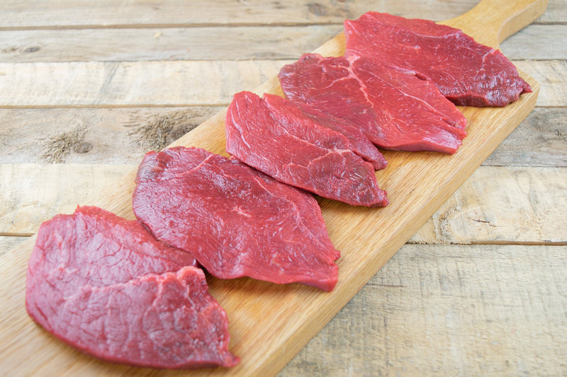 Beef Braising Steaks 5 x 4oz (113g) - Birtwistles Catering Butchers