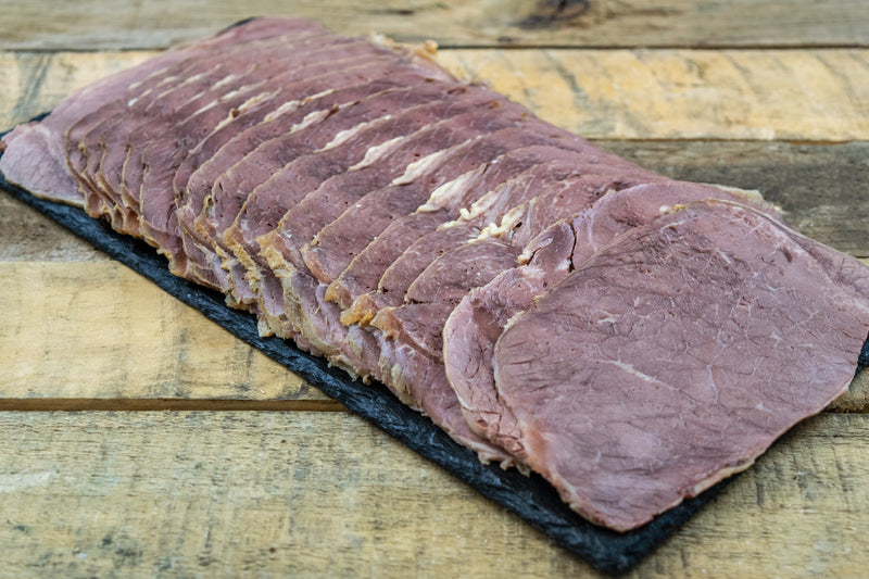 Sliced Cooked Beef (500g) - Birtwistles Catering Butchers