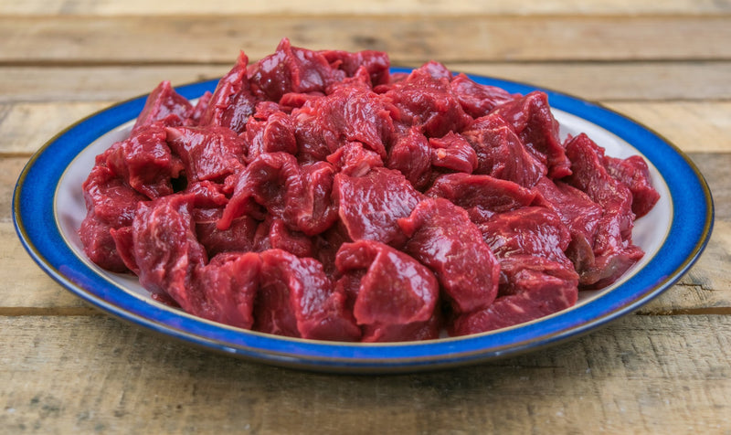 Diced Beef (1kg pack) - Birtwistles Catering Butchers