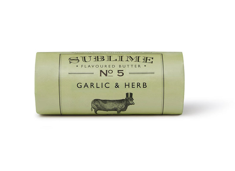 Sublime No.5 Garlic & Herb Butter (90g) - Birtwistles Catering Butchers Online
