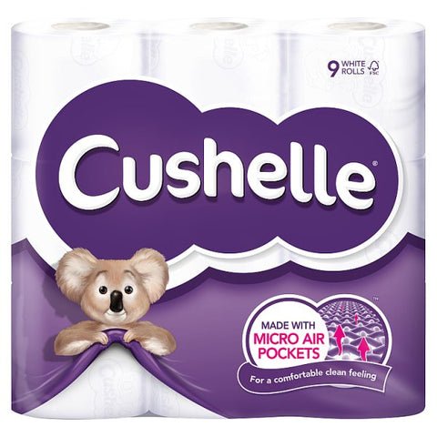 Cushelle White 9 Roll