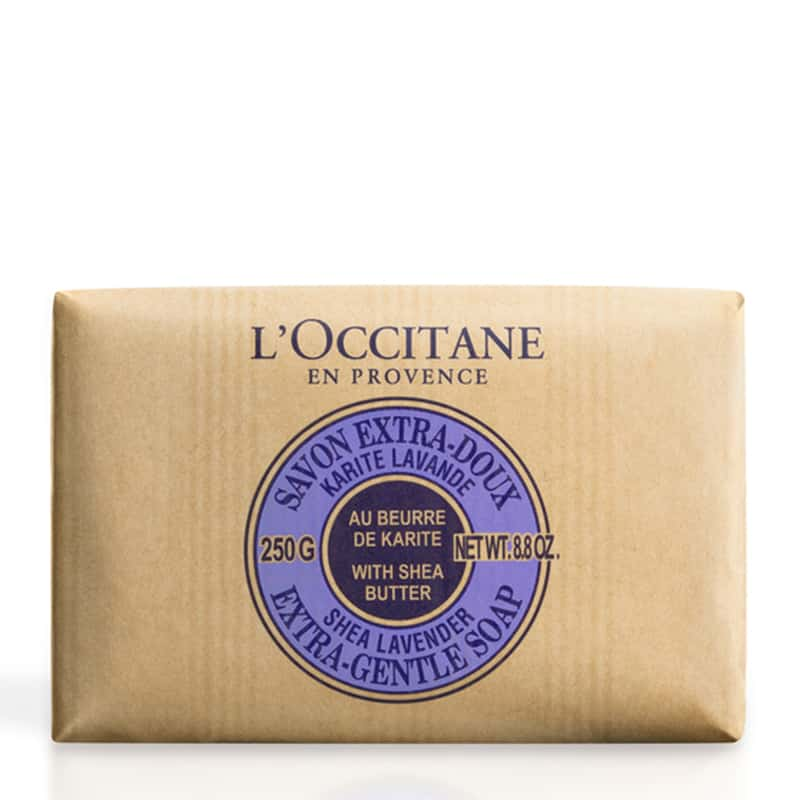 L'Occitane Lavender Shea Butter Extra Gentle Soap 250g