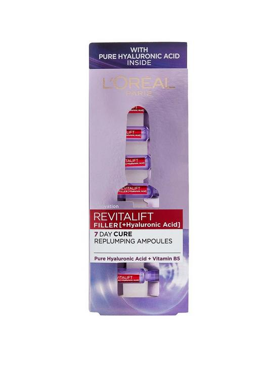 L'Oreal Paris Revitalift Filler Replumping Ampoules 7 x 1.3ml