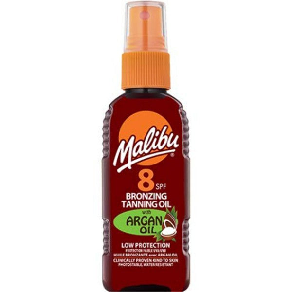 Malibu Bronzing Tanning Oil With Argan 200ml