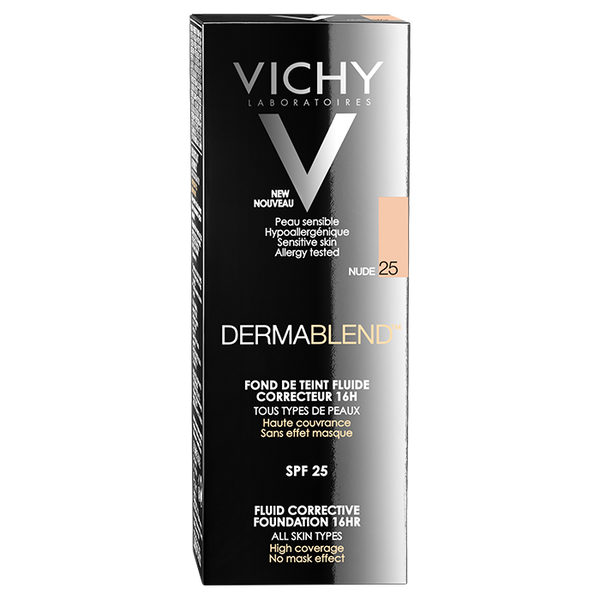 Vichy Dermablend Corrective Fluid Foundation 16hr 30ml