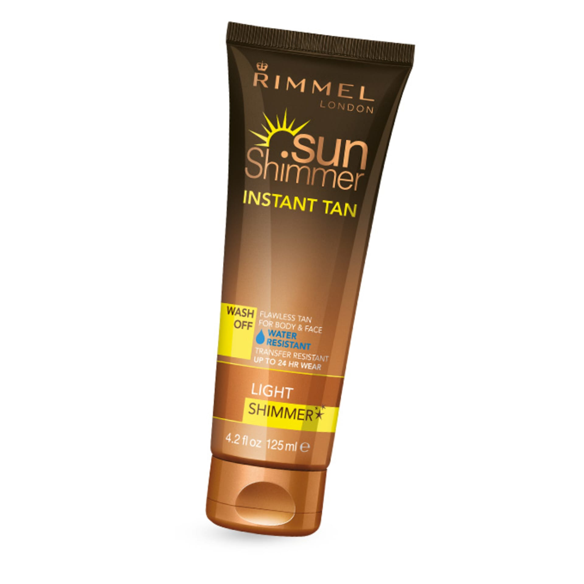 SunShimmer Instant Tan Shimmer Water Resistant - Light Shimmer