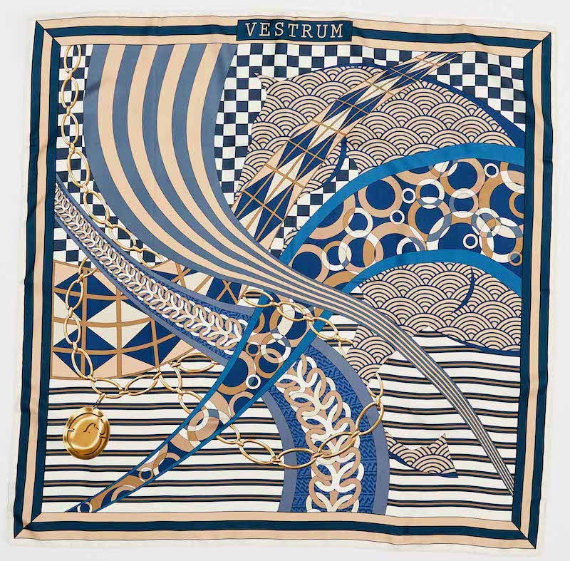 ESTORIL SILK SCARF  Vestrum America