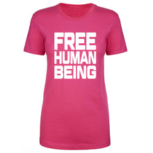 Load image into Gallery viewer, TFHBP - FREE HUMAN BEING - First Amendment Edition - Womens Short Sleeve