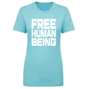 TFHBP - FREE HUMAN BEING - First Amendment Edition - Womens Short Sleeve