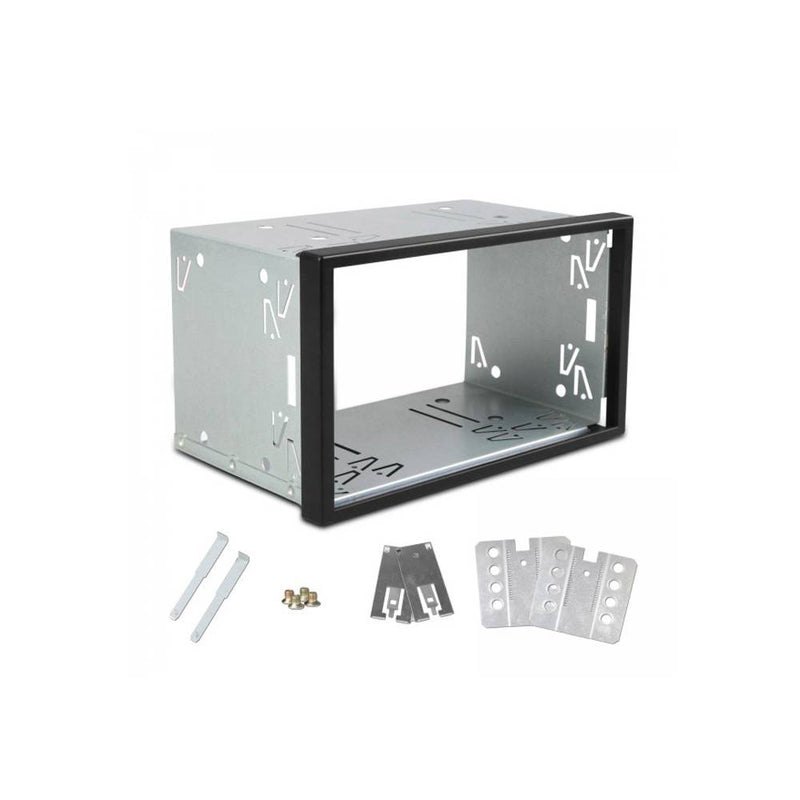 Double din mounting frame for Universal stereo