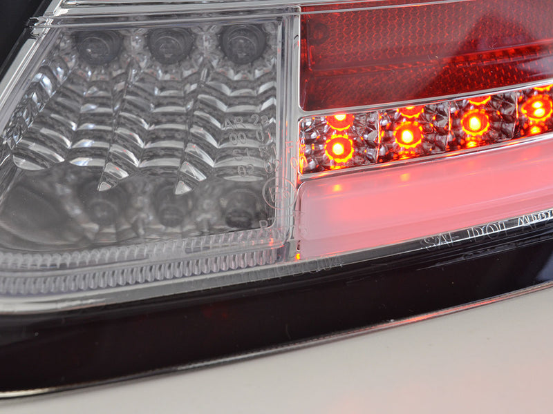 LED rear lights Porsche Boxster Typ 987 Yr. 04-09 chrom