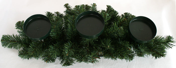 New Zealand Pine Candle Centrepiece