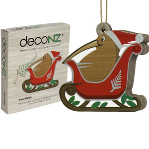 Deconz 3D Cardboard Model Kits - New Zealand Decorations - Complete Set of five (5) *** BULK BUY SPECIAL ***