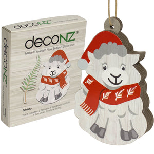 Deconz 3D Cardboard Model Kit New Zealand Decoration - Sheep *** SPECIAL ***