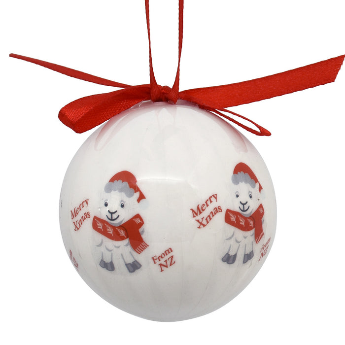 Decoration - New Zealand Sheep bauble