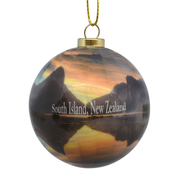 Decoration - New Zealand Landscape Bauble