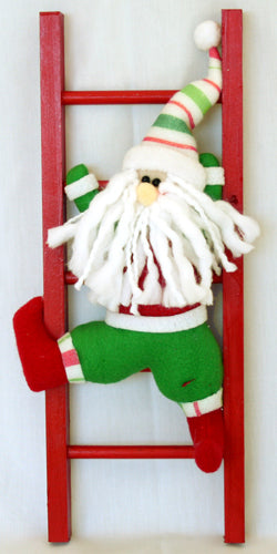Ladder - Santa Decoration - END OF LINE SPECIAL