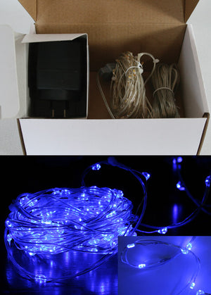 Micro Seed Lights - LED Blue