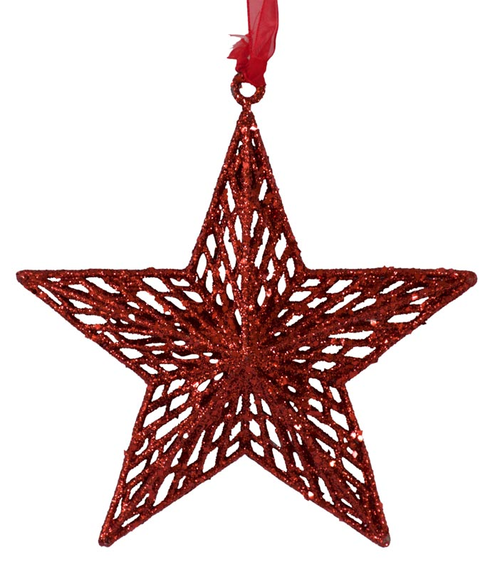 Star - Red - 18cm