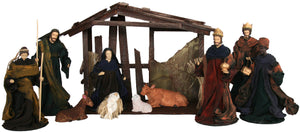 Nativity Set - 10 piece (STABLE SOLD SEPARATELY)