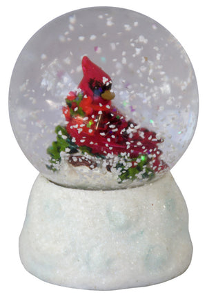Water Globe - Mini - Christmas Robin 6.25cm