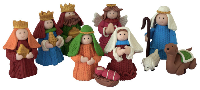 Nativity - Childrens' 9pce starter set