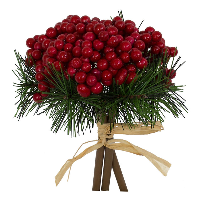 Christmas Pick - Glossy Red 18cm - Box Lot Deal (10)