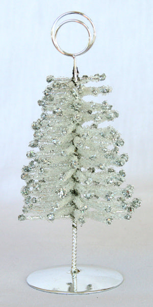 Card holder - Silver Tree