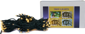 Christmas Tree Lights - Warm White LED 120 Bulbs