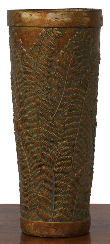 Vase - NZ Fern Pattern - Bronze *** PRICE SLASH ***