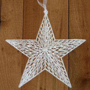 Star - White - Large