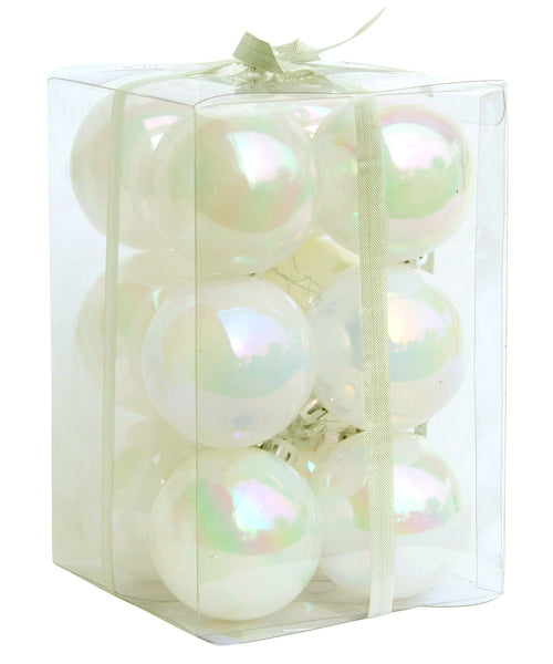 Shiny Balls - White - 60mm