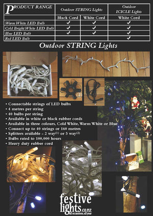 Fairy Lights String - Electric Blue *** SPECIAL ***
