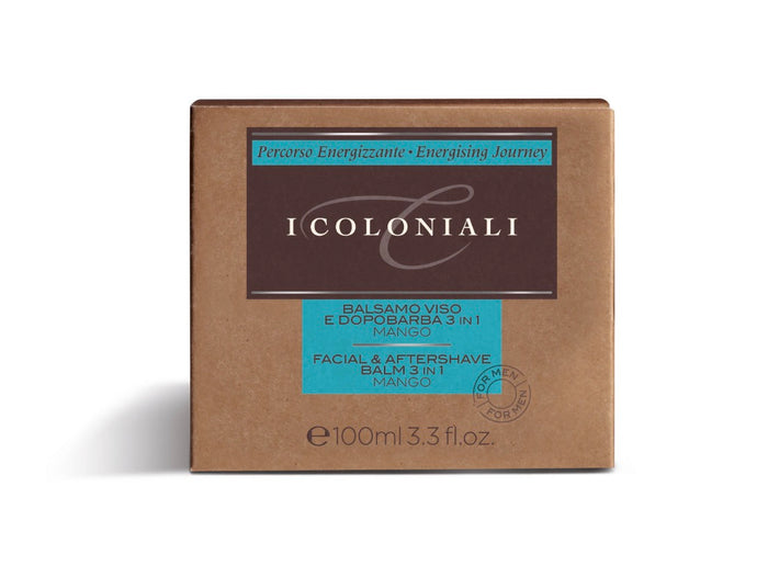 I Coloniali Facial and Shaving Balm 3 in 1 w/Mango