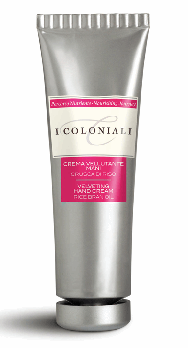 Velveting Hand Cream w/Rice Bran Oil in Tube from I Coloniali | Beauty Cafe