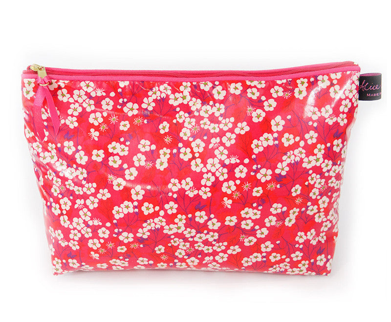 Alice Caroline Mitsi Hot Pink Wash Bag