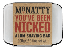 Mr Natty Nicked Alum Shaving Bar