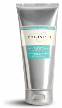 Moisturizing Body Milk with Water Lily from I Coloniali | Beauty Cafe