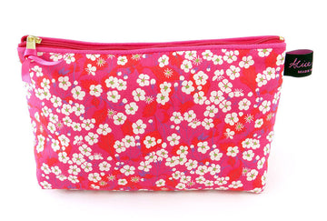 Alice Caroline Mitsi Hot Pink Cosmetic Bag