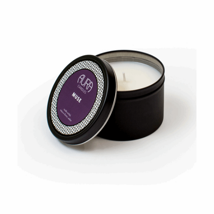 Muse Travel Candle from Aura Candles | Beauty Cafe