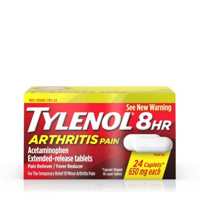 Tylenol 8 Hr Arthritis Pain Extended Release Caplets, 650mg - 24 ct