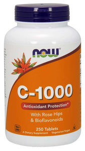 NOW Vitamin C-1000 Tablets 250ct