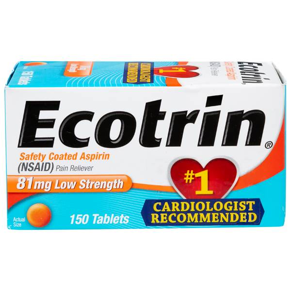 Ecotrin 150 Count Ecotrin Low Dose Tablets 150ct