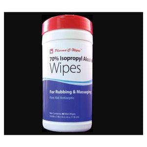 Wipes Alcohol Pharma-C-Wipes Tub