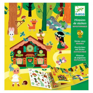 Djeco Sticker Stories - Magical Forest