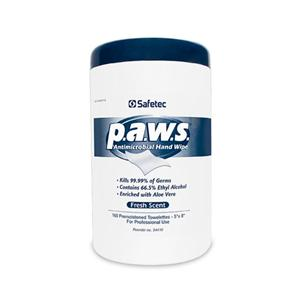 Wipes Antimicrobial p.a.w.s. 65.9% Ethyl Alcohol Fresh 160/Cn,
