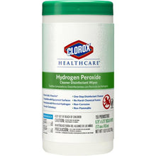 Load image into Gallery viewer, Wipes Hydrogen Peroxide Clorox Regular 155/Can